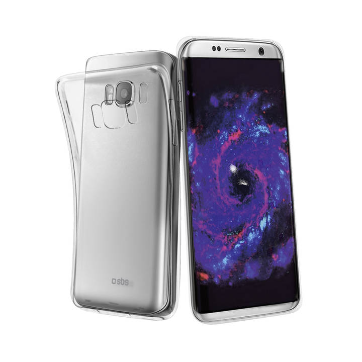 SBS Backcover pour Galaxy S8 Clear