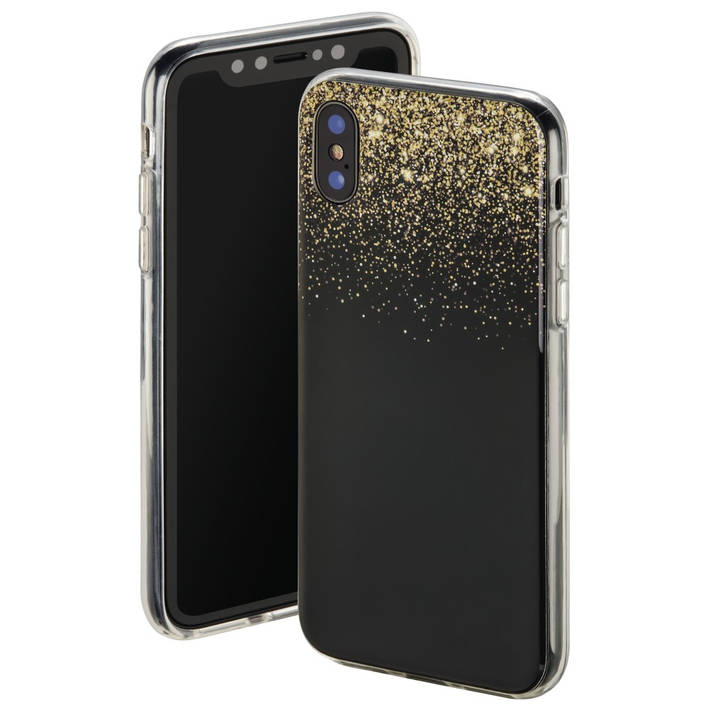 Cover Golden Rain für Apple iPhone X, Sc