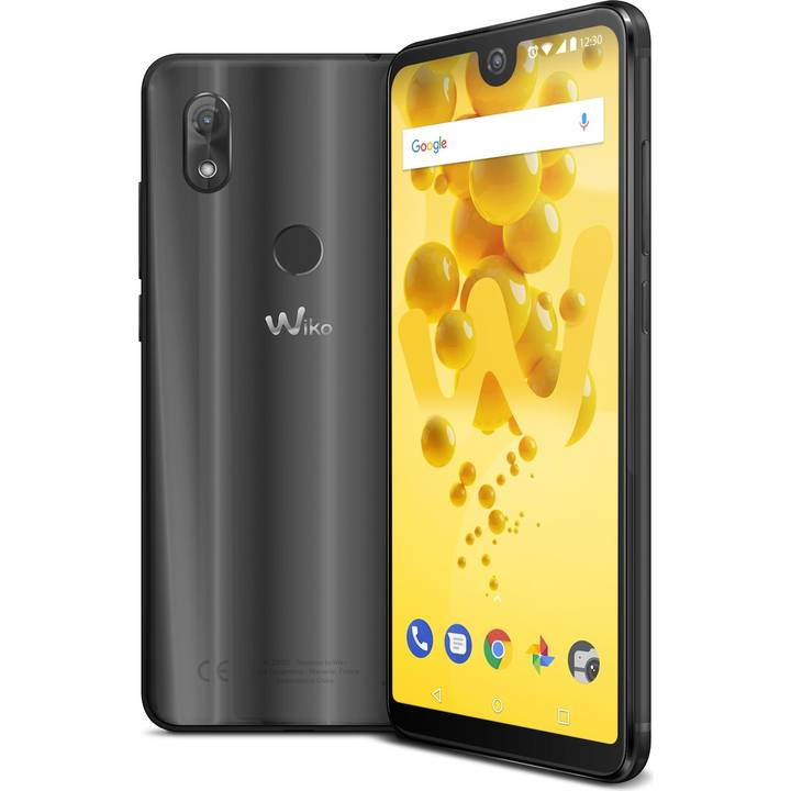 "WIKO View 2, 6"", 32 GB, Dual SIM, 13 MP, Anthracite"