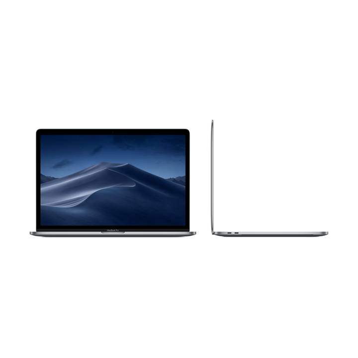 "APPLE MacBook Pro Retina 15"" Touch Bar, Space Grau, i7, 16 GB RAM, 512 GB SSD, 2018"