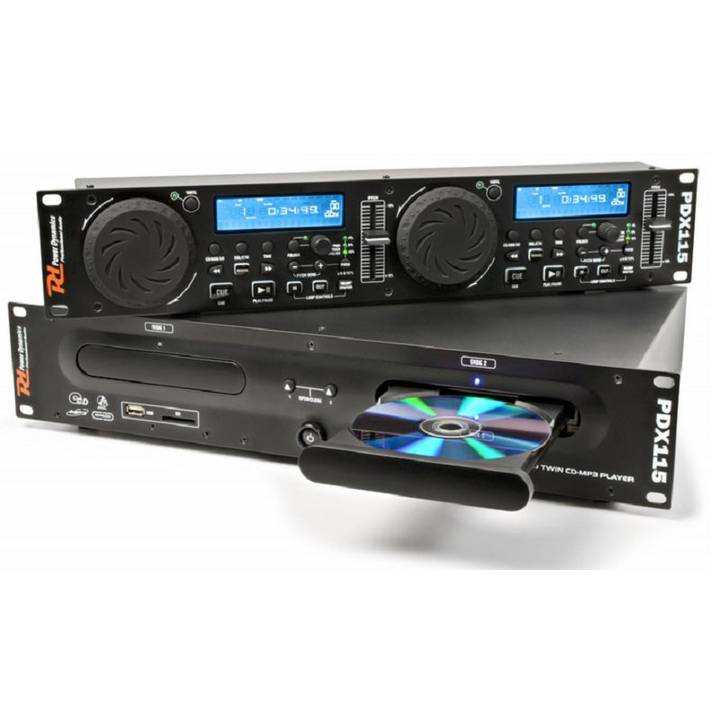 Power Dynamics PDX115 Doppel-CD-Player