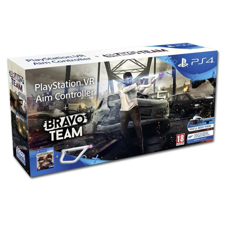 Bravo Team VR + Playstation VR Aim Controller (DE/FR/IT)
