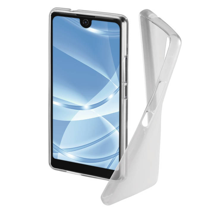 """HAMA Backcover """"Crystal"""" Wiko View 2 Pro"""