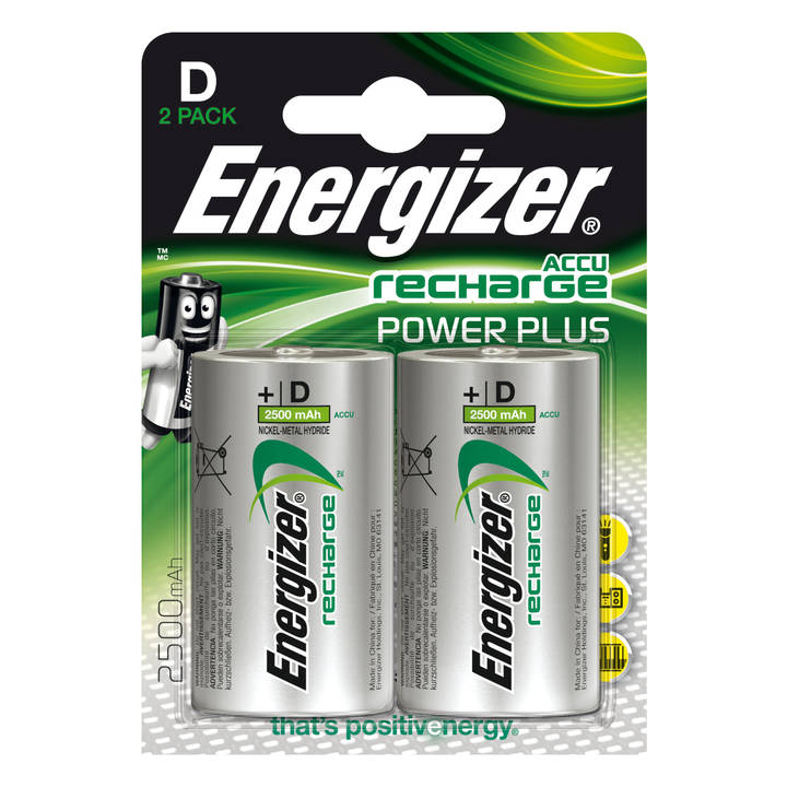 ENERGIZER Accu Recharge Power Plus