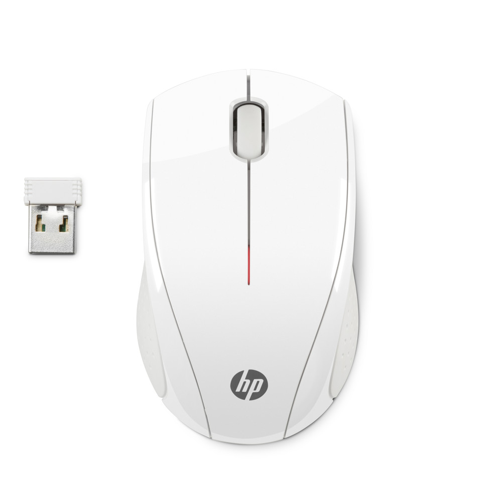 HP Wireless Mouse X3000 White