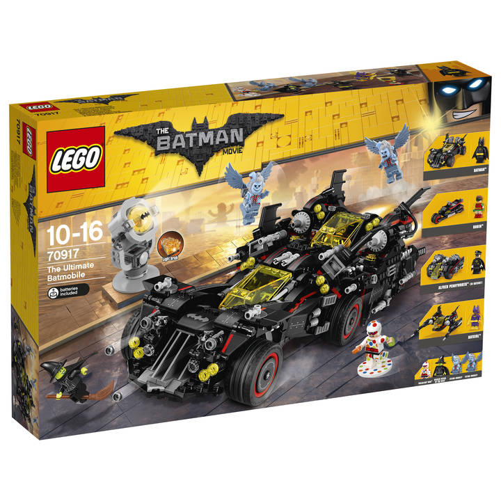 LEGO Batman Movie The Ultimate Batman Mobile (70917)