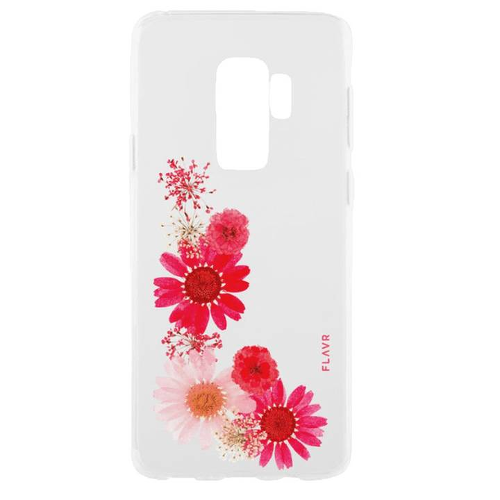 FLAVR Backcover iPlate Real Flower Sofia für Galaxy S9 Plus