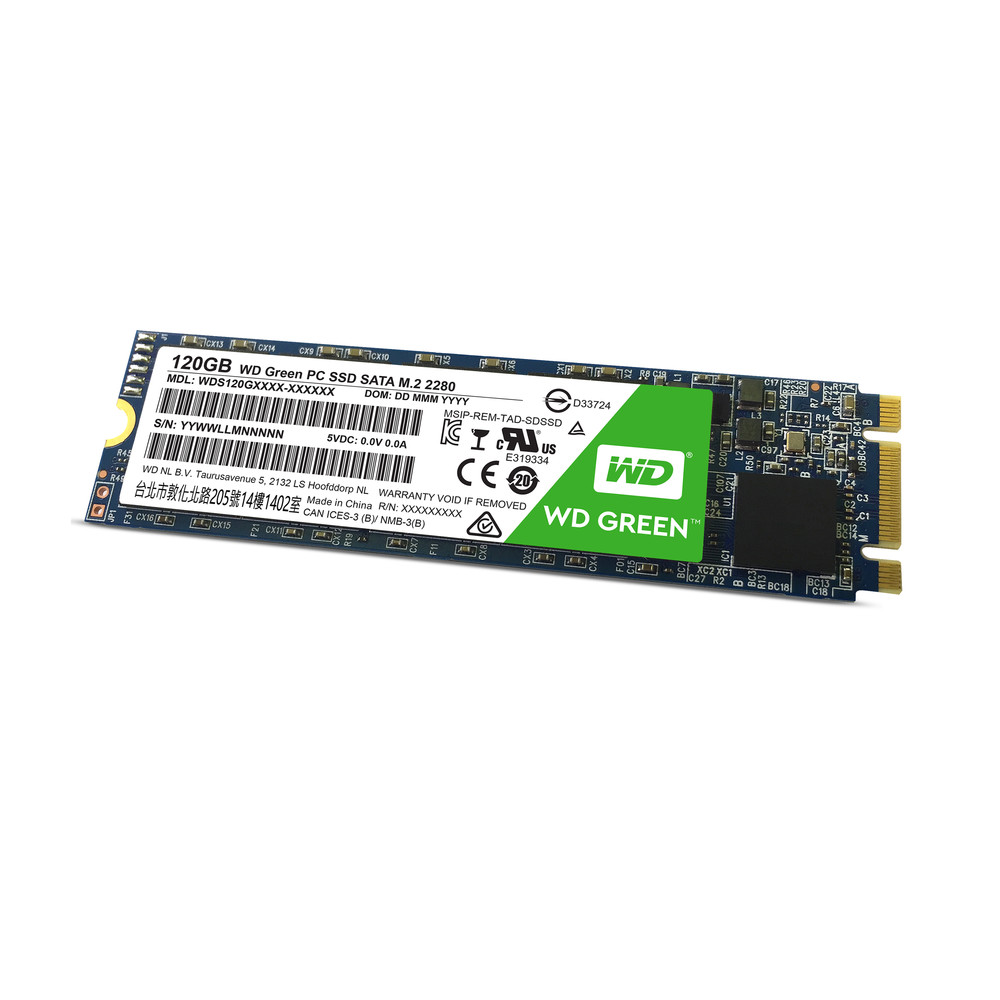 WESTERN DIGITAL Green PC 120 GB SSD Serial ATA III