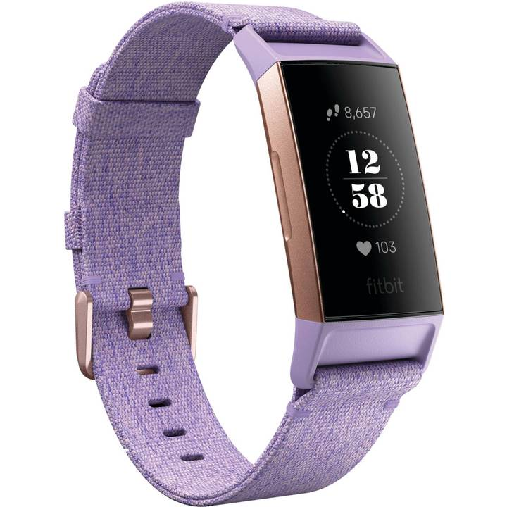 FITBIT Charge 3 Special Edition (NFC) Lavender Woven/Rosegold