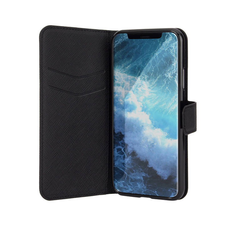 INTERTRONIC Wallet Case für iPhone X Black