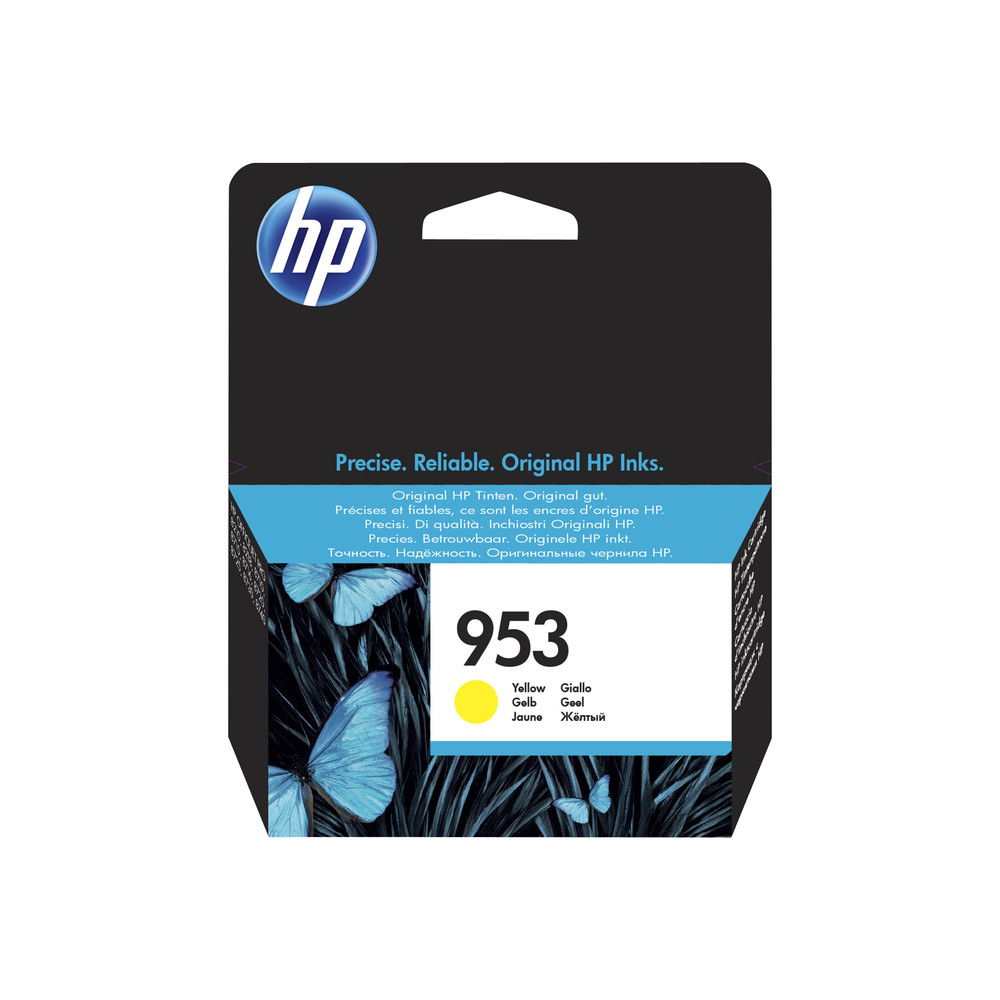 HP Ink Cartridge, 953, yellow