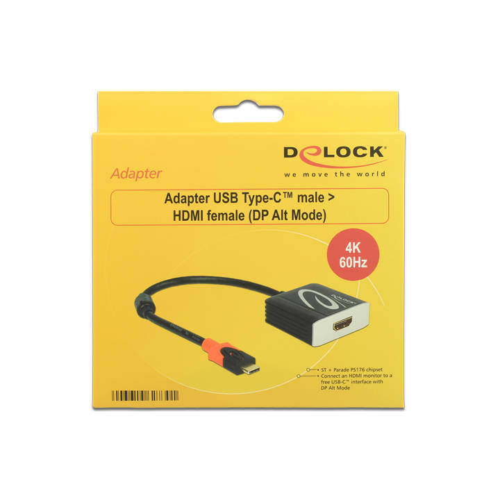 DELOCK Adapter USB Typ-C/HDMI