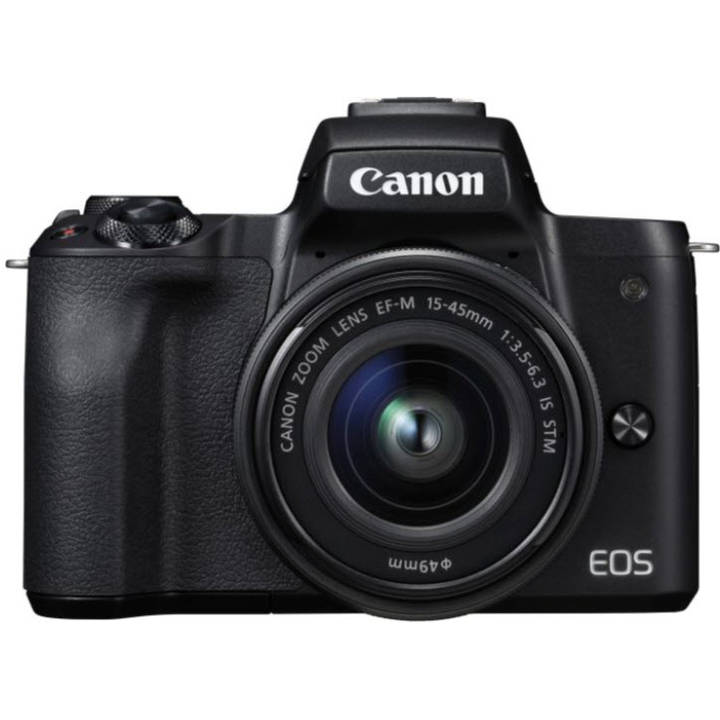 CANON EOS M50 Black inkl. EF-M 15-45mm